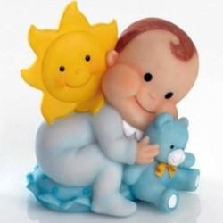Bebé osito solete celeste