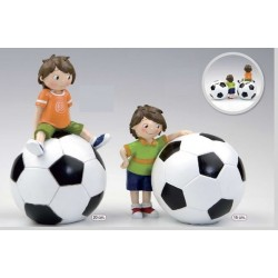 Figura pastel hucha/balón