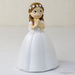 Figura pastel niña de comunión