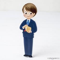 Figura 2D de madera niño de...