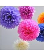 Flores, pompones